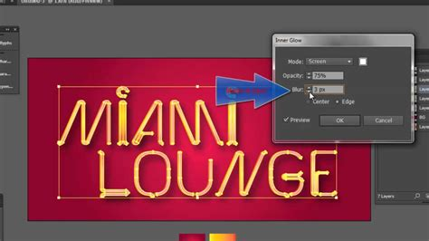 tutorial illustrator neon illustrator tutorial creating a neon sign youtube