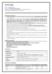 Java J2ee Developer Sle Resume by Sachin Gupta Resume Java J2ee Scrum Developer
