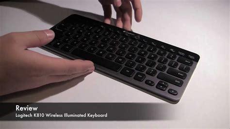 Keyboard Logitech K810 review logitech k810 wireless illuminated keyboard