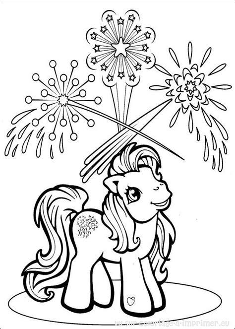 Petit Poney #110 (Dessins Animés) – Coloriages à imprimer