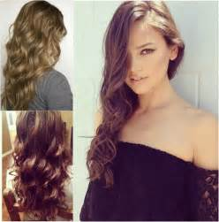 Real Hair Hairstyles Real Hair Extensions Are Assistants For Winter