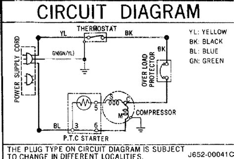 door refrigerator wiring diagram dometic