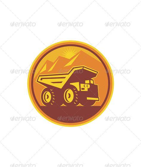 Dump Truck Logo Templates By by Dump Truck Logo Templates Graphicriver 100 Vector Ai