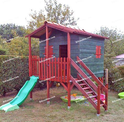 Fabriquer Une Cabane En Bois Pour Enfant by Bricolage Fabriquer Maison En Bois Pour Enfants
