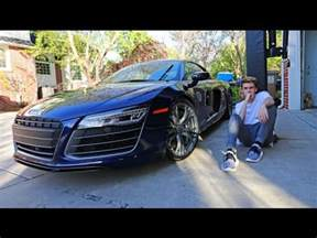 my new car audi r8 (16 years old) youtube