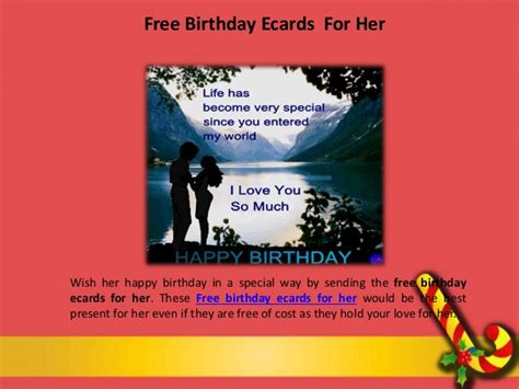 free printable birthday ecards wish your mom with free birthday ecards for her