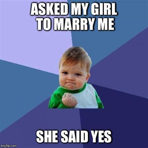 Marry Her Meme - success kid meme imgflip