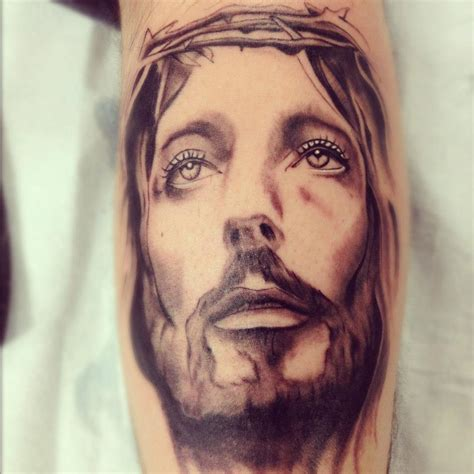 jesus face tattoos 20 best jesus images and designs