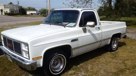 short bed truck cer craigslist 1984 gmc chevrolet c 10 c1500 sierra classic short bed swb
