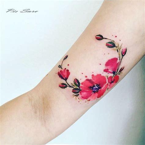 39 luxurious poppy tattoos tattoomagz