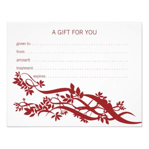 Massage Gift Card Ideas - massage certificates gifts t shirts art posters other gift ideas zazzle
