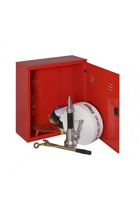 cassetta idrante cassetto corredo idrante rossa singola con portello pieno