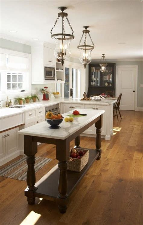 island table for small kitchen best 25 moveable kitchen island ideas on