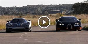Bugatti Vs Agera Who Is Actually Faster Koenigsegg Agera R Vs 1200 Hp