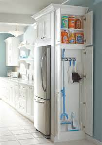 kitchen utility cabinets utility organizer cabinet traditional kitchen by masterbrand cabinets inc
