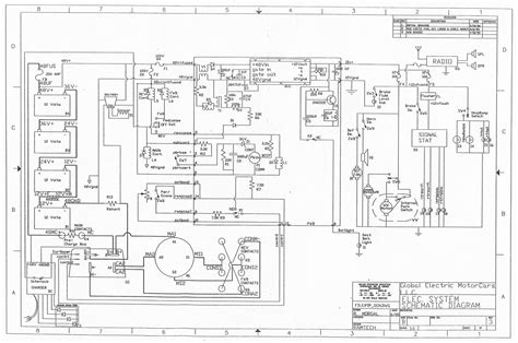 wiring schematic for a half electric motor c1614c2