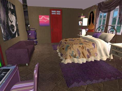 artsy bedroom artsy bedroom sims 2 interiors pinterest