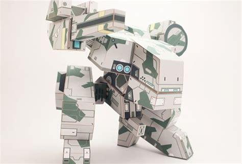 Mechanical Papercraft - metal gear rex free mech paper