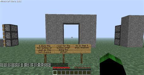 Piston Door by Piston Door Tutorial With Pictures Minecraft Project