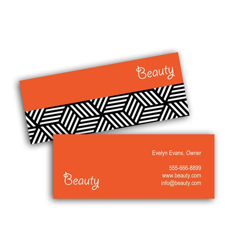 hometown business card design orange squares creative solutions studio