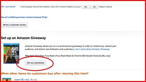 How To Set Up A Giveaway On Your Blog - how to set up an amazon giveaway to drive people to your amazon author page writing