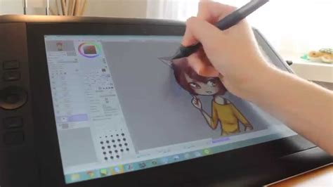 how to paint tool sai on android tablet cintiq companion drawing sai paigeeworld s nyan