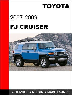 service manual service and repair manuals 2011 toyota fj cruiser security system toyota fj