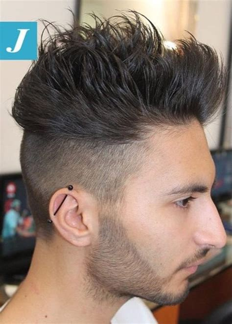 ritzy shaved sides hairstyles  haircuts  men