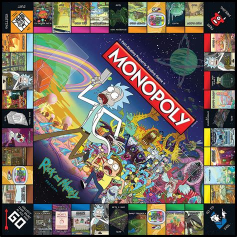 Sweater Rick And Morty I Wanna Squanch Your Squanchy monopoly 174 rick and morty monopoly usaopoly