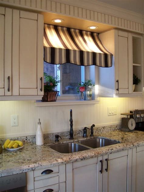 Houzz Kitchen Curtains Bistro Style Kitchen