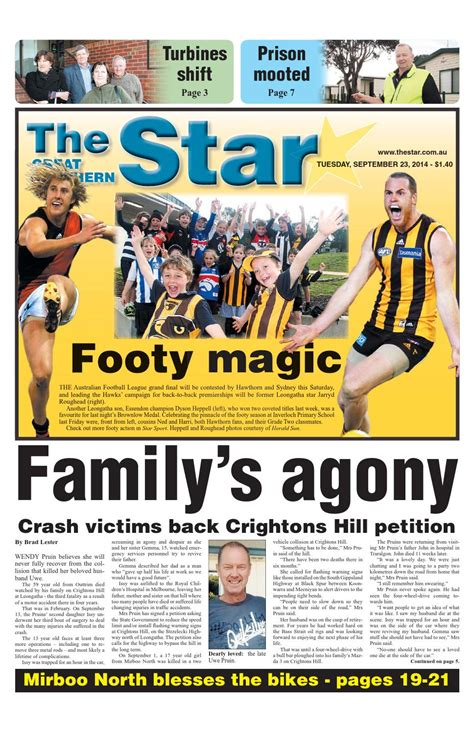 issuu the great southern star april 1 2014 by the the great southern star september 23 2014 by the great