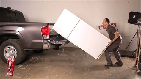 How To Transport A by How To Transport A Fridge By Yourself Using A Large