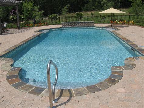 backyard inground swimming pools hattiesburg inground gunite swimming pool and vinyl swimming pool