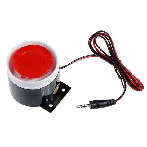 Alarm Horn 120db wired siren horn speaker for gsm security system alarm alex nld
