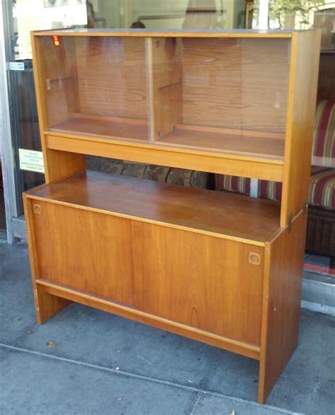 Teak China Cabinet by Uhuru Furniture Collectibles Sold Teak China