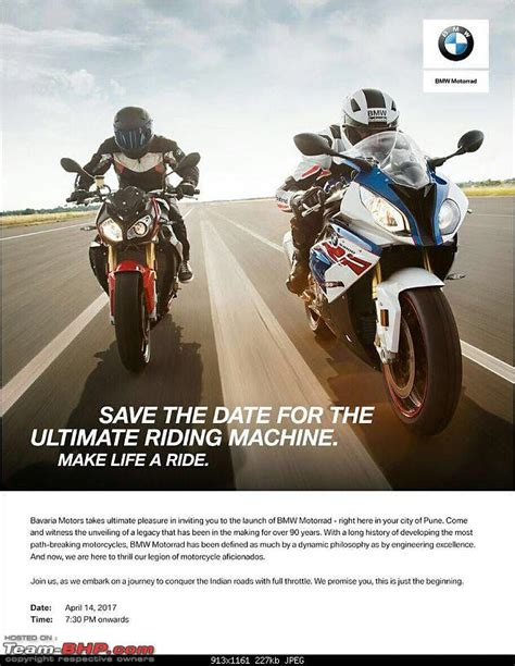 Bmw Motorrad India Price List by Bmw Motorrad Launch Edit Price List On Page 2 Team Bhp