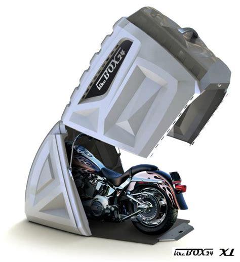 Motorrad Garage Baugenehmigung by Bikebox 24 Bietet Eine Innovative Motorradgarage Zur