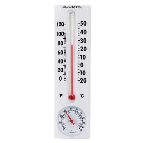 humidity comfort level outdoor acurite thermometer with humidity 00339hdsba2 the home depot
