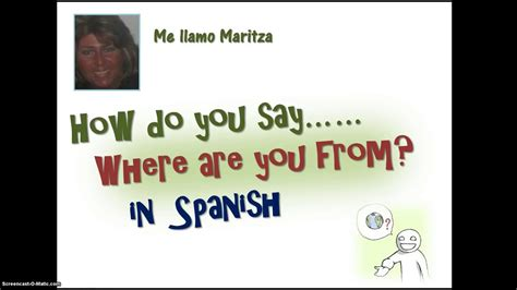 how do u say couch in spanish how do you say where are you from in spanish youtube