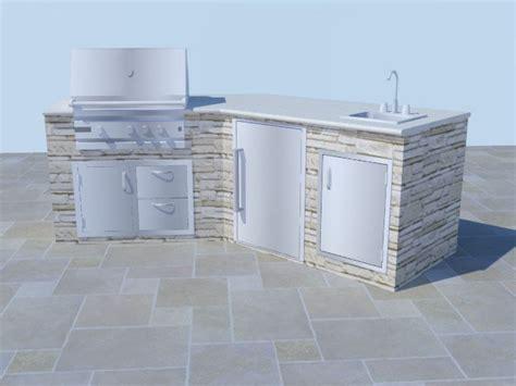 Modular Outdoor Kitchen Frames by Outdoor Kitchen Frame Kit Interior Exterior Doors