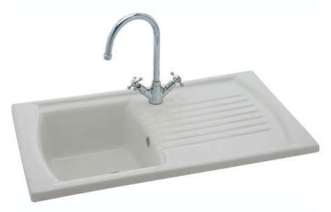 Carron Phoenix Solaris Kitchen ceramic sink waste pipe