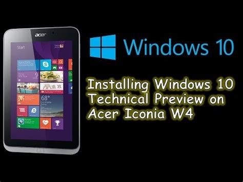 windows 10 tutorial for tablets instalar windows 10 en una tablet o pc tutorial en es