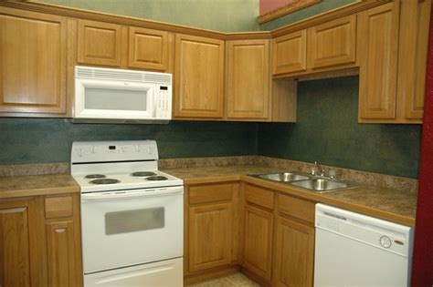 How To Design Kitchen Cabinets by Kitchen Designs With Oak Cabinets Home Furniture Design