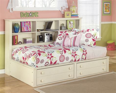 buy cottage retreat bookcase bed by signature design