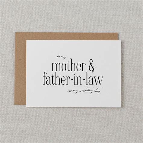 in law to my mother and father in law wedding cards by kismet