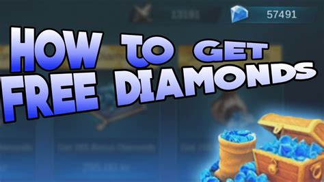tutorial hack diamond mobile legends mobile legends how to get free diamonds no hack youtube