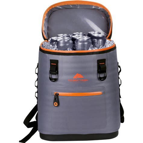 ozark trail premium soft sided backpack cooler ozark trail premium backpack cooler
