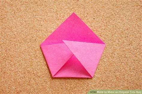 How To Make An Origami Purse - how to make an origami tote bag 14 steps with pictures