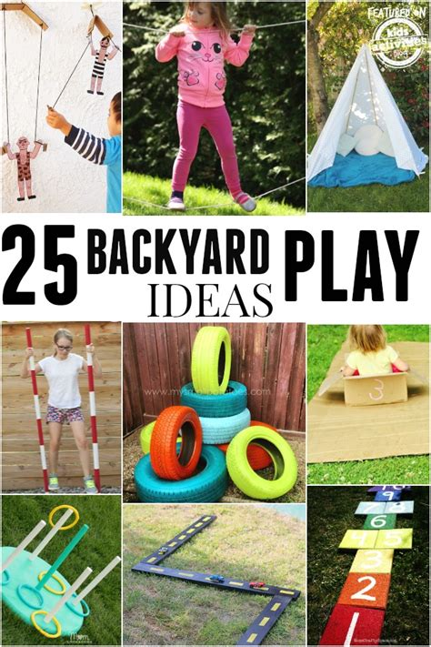 backyard play ideas