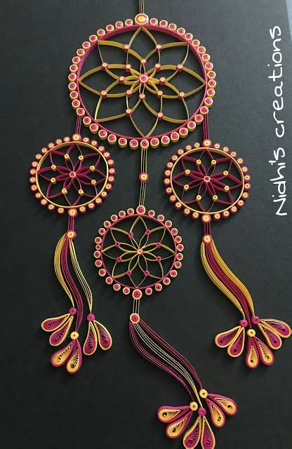 dream catcher quilling being creative in the world of paper crafting quilled